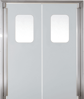 PE trafficdoor GP220 Grothaus light grey
