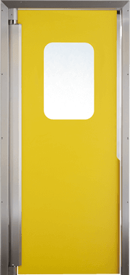 PE trafficdoor GP220 Grothaus yellow
