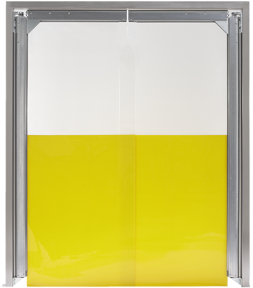 PE trafficdoor Grothaus yellow